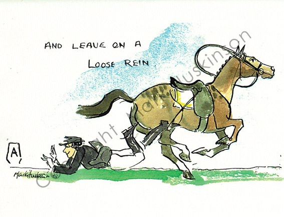 Leave On A Loose Rein
