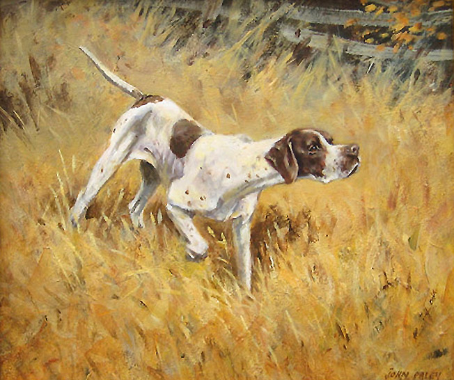 English Horses With Dogs Oil Paintings