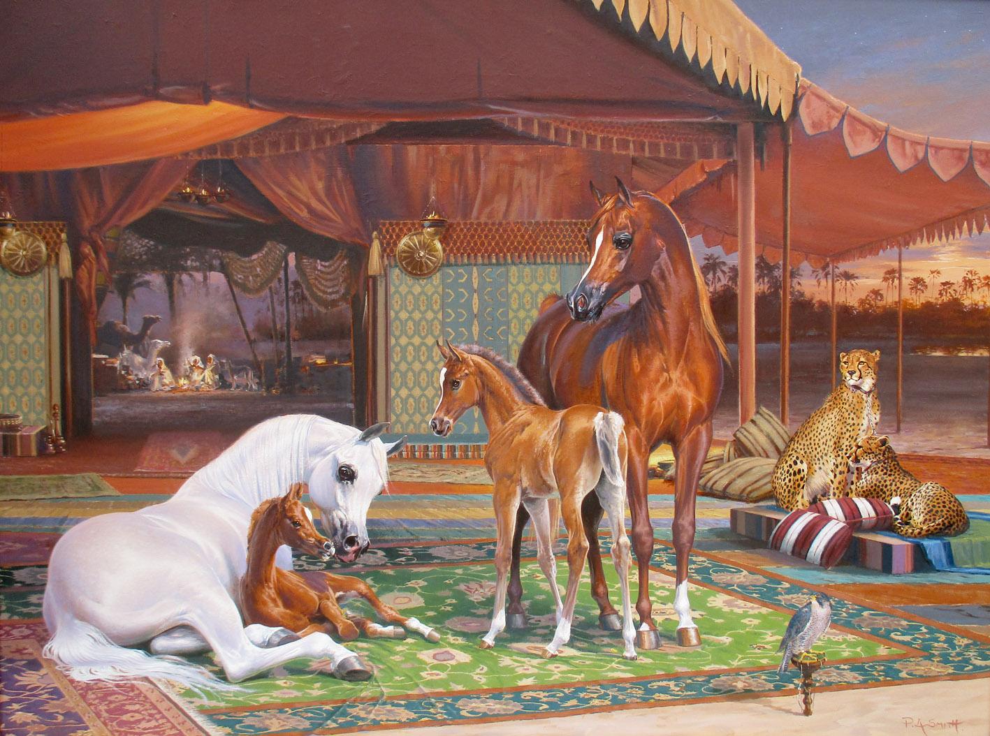 Arabian Horse Paintings
