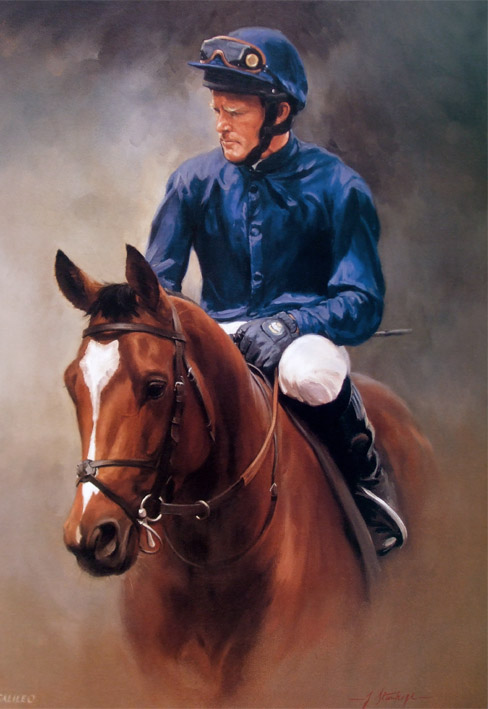 Galileo Limited Edition Horse Racing Print By Equestrian